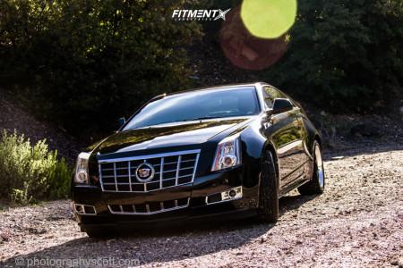 2012 Cadillac CTS - 18x9.5 40mm - TSW Valencia - Stock Suspension - 245/45R18