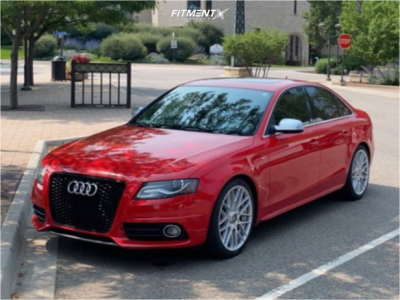 2010 Audi S4 - 19x8.5 45mm - Rotiform Rse - Coilovers - 255/35R19