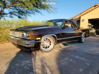 1987 Chevrolet Monte Carlo - 18x8 0mm - Rocket Racing Attack - Coilovers - 245/40R18