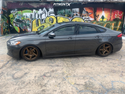 2019 Ford Fusion - 18x8.5 40mm - Artisa ArtFormed Kinetic - Coilovers - 235/40R18