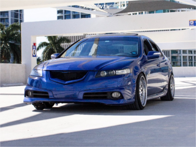 2007 Acura TL - 18x9.5 22mm - Whistler Sk1 - Coilovers - 225/40R18