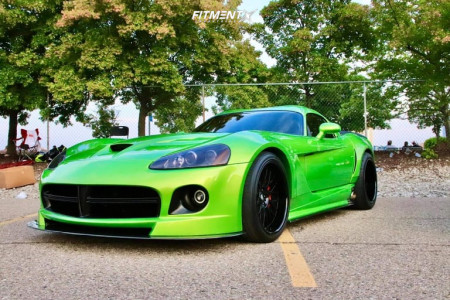 2008 Dodge Viper - 19x11.5 6mm - Mcw Wheels MTN-001 - Coilovers - 285/30R19