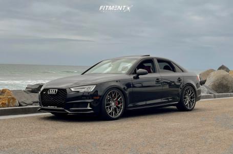 2018 Audi S4 - 20x9 32mm - Variant Radon - Lowering Springs - 265/30R20
