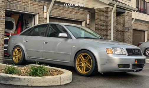 2004 Audi A6 Quattro - 18x8.5 25mm - XXR 572 - Air Suspension - 245/40R18