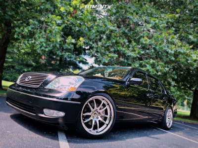 2001 Lexus LS430 - 19x9.5 22mm - Aodhan Ds02 - Coilovers - 245/40R19
