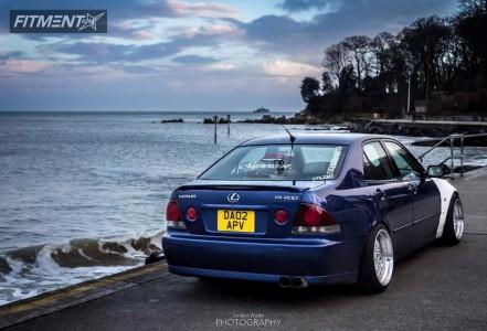 2002 Lexus IS300 - 17x10 10mm - BBS Super RS - Lowering Springs - 235/45R17