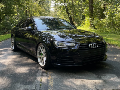 2017 Audi A4 Quattro - 19x9.5 35mm - Aodhan Aff7 - Lowering Springs - 245/40R19