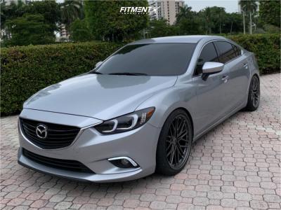 2016 Mazda 6 - 20x9 35mm - XXR 571 - Coilovers - 245/35R20