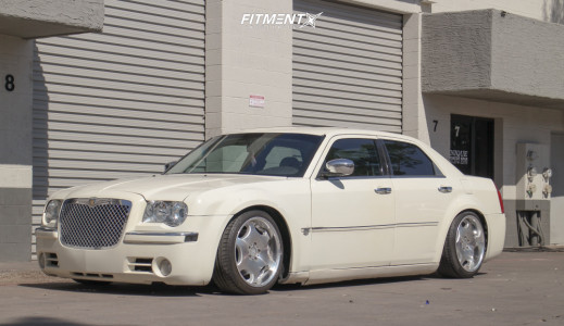2006 Chrysler 300 - 19x9 10mm - AME Shallen Lx - Coilovers - 225/40R19