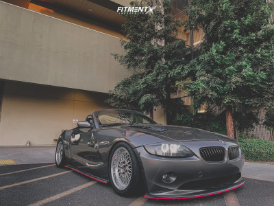 2004 BMW Z4 - 17x8 20mm - BBS Rc090 - Coilovers - 245/40R17