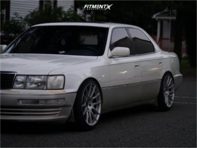 1993 Lexus LS400 - 18x9.5 15mm - 5zigen Zr +520 - Coilovers - 235/40R18