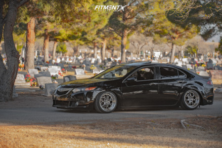 2009 Acura TSX - 18x9.5 35mm - Aodhan Ds01 - Coilovers - 225/45R18