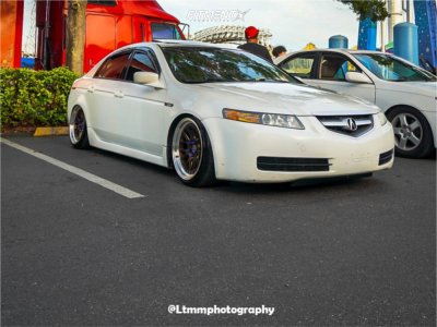 2004 Acura TL - 18x9.5 35mm - Aodhan Ds08 - Coilovers - 225/40R18