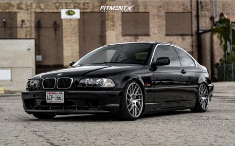 2001 BMW 330Ci - 18x8.5 35mm - Artisa ArtFormed Elder - Coilovers - 215/35R18