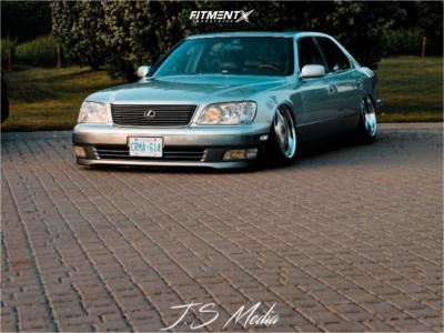 1998 Lexus LS400 - 18x9 41mm - Riverside Altstadt - Air Suspension - 225/40R18