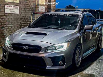 2018 Subaru WRX - 18x9.5 30mm - Aodhan Ds02 - Coilovers - 235/40R18