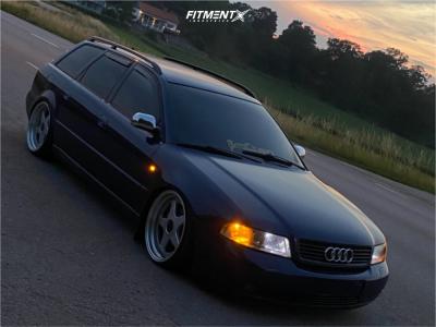 1999 Audi A4 - 18x9.5 32mm - OZ Racing Futura - Coilovers - 215/35R18