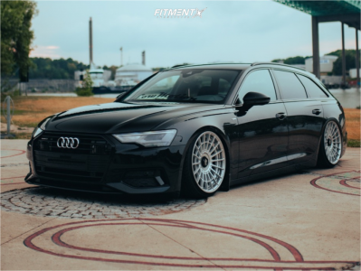 2019 Audi A6 Quattro - 20x10 35mm - Rotiform Las-r - Air Suspension - 245/30R20