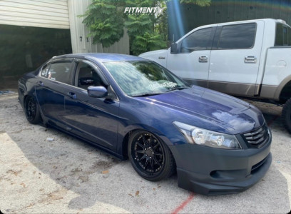 2008 Honda Accord - 18x9.5 30mm - Aodhan Ds07 - Coilovers - 225/40R18