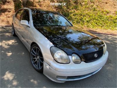 1999 Lexus GS300 - 18x8.5 35mm - AVID1 Av32 - Coilovers - 255/45R18