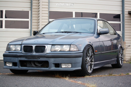 1999 BMW 323is - 18x8.5 35mm - Rotiform Rse - Coilovers - 225/45R18