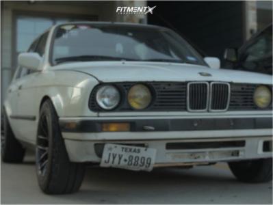 1986 BMW 325e - 16x8.25 0mm - XXR 530 - Coilovers - 225/50R16