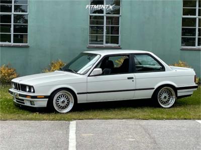 1991 BMW 318is - 17x8.5 25mm - JNC Jnc004 - Coilovers - 205/40R17