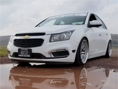 2016 Chevrolet Cruze Limited - 18x9.5 35mm - Aodhan Ds07 - Coilovers - 225/40R18