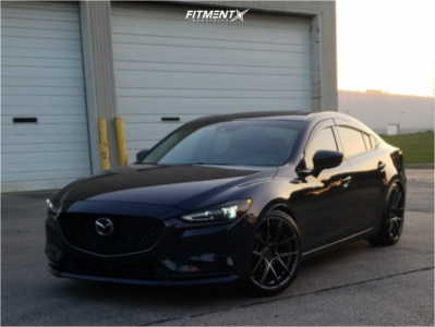 2018 Mazda 6 - 20x9 35mm - AVID1 Sl02 - Lowering Springs - 245/35R20
