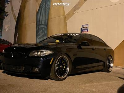 2014 BMW 535i - 20x8.5 45mm - XXR 521 - Coilovers - 255/35R20