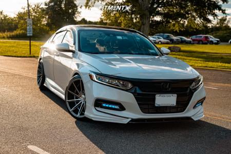 2018 Honda Accord - 20x10.5 35mm - INOVIT Turbine - Coilovers - 255/35R20