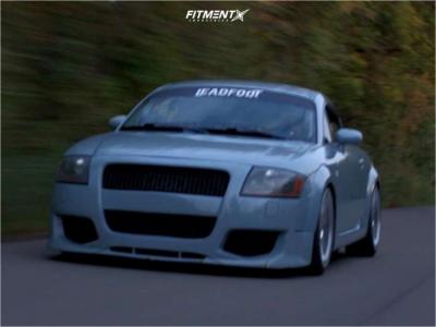 2001 Audi TT Quattro - 18x8.5 35mm - 3SDM 0.06 - Coilovers - 215/40R18