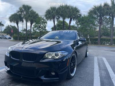 2014 BMW 535i - 20x8.5 35mm - XXR 521 - Coilovers - 255/35R20