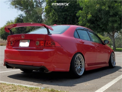 2006 Acura TSX - 18x9.5 27mm - Enkei Nt03 - Coilovers - 225/40R18