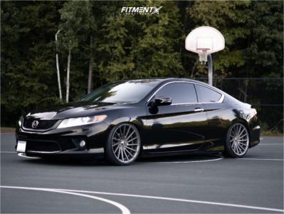 2015 Honda Accord - 20x9 30mm - STR 616 - Coilovers - 225/35R20