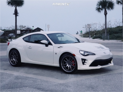 2020 Toyota 86 - 18x9.5 35mm - Aodhan Ds02 - Stock Suspension - 245/40R18
