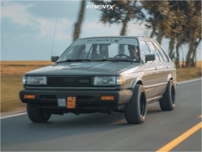 1988 Nissan Sentra - 15x8 0mm - MST Mt01 - Stock Suspension - 205/50R15