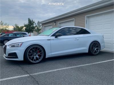 2019 Audi S5 - 20x10.5 25mm - BBS Ch-r - Lowering Springs - 275/30R20