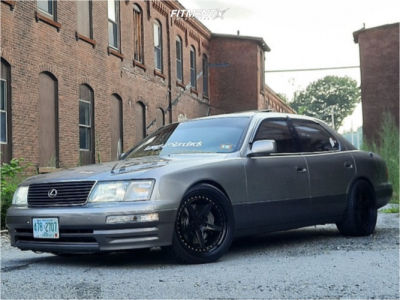 1997 Lexus LS400 - 19x9.5 38mm - Aodhan Ds05 - Coilovers - 275/30R19