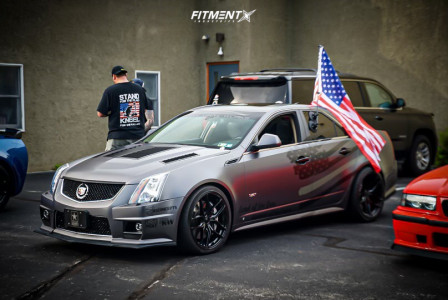 2009 Cadillac CTS - 20x9 35mm - Stance Sf-03 - Coilovers - 255/35R20