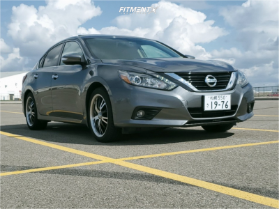 2018 Nissan Altima - 18x8.5 35mm - Panther Vector - Stock Suspension - 225/45R18