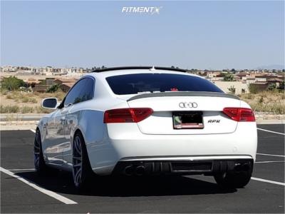 2015 Audi A5 Quattro - 19x10.5 22mm - Vors Tr4 - Lowering Springs - 265/35R19