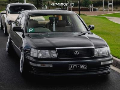 1991 Lexus LS400 - 19x10 -33mm - Blitz Technospeed Z1 - Air Suspension - 225/35R19