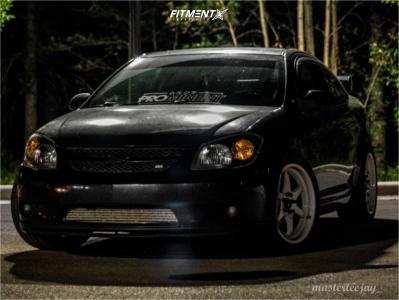2008 Chevrolet Cobalt - 18x8.5 35mm - Aodhan Ah08 - Lowering Springs - 255/40R18