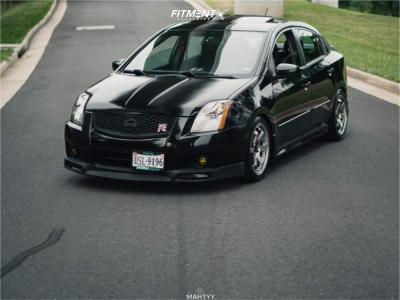 2007 Nissan Sentra - 17x8 35mm - AVID1 Av6 - Coilovers - 225/45R17