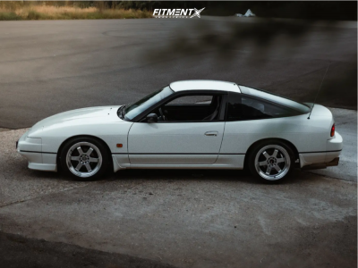 1989 Nissan 200SX - 17x8 35mm - Japan Racing Jr12 - Coilovers - 225/45R17