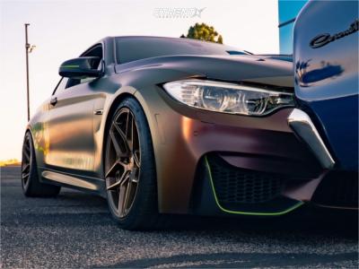 2015 BMW M4 - 19x9.5 20mm - Rohana Rfx11 - Lowering Springs - 255/35R19