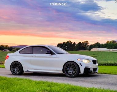 2018 BMW M240i - 19x8.5 30mm - ESR Sr12 - Stock Suspension - 225/35R19