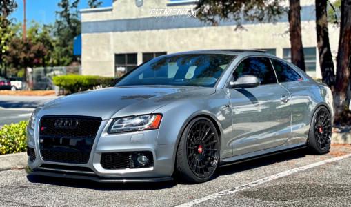2011 Audi S5 - 19x10.5 25mm - Rotiform Las-r - Coilovers - 275/35R19