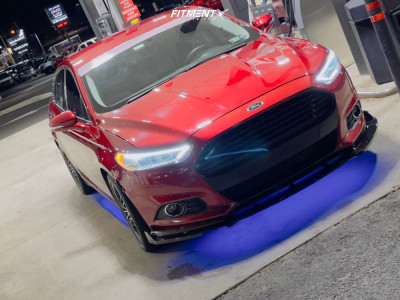 2013 Ford Fusion - 18x8.5 40mm - 2Crave N26 - Coilovers - 235/45R18